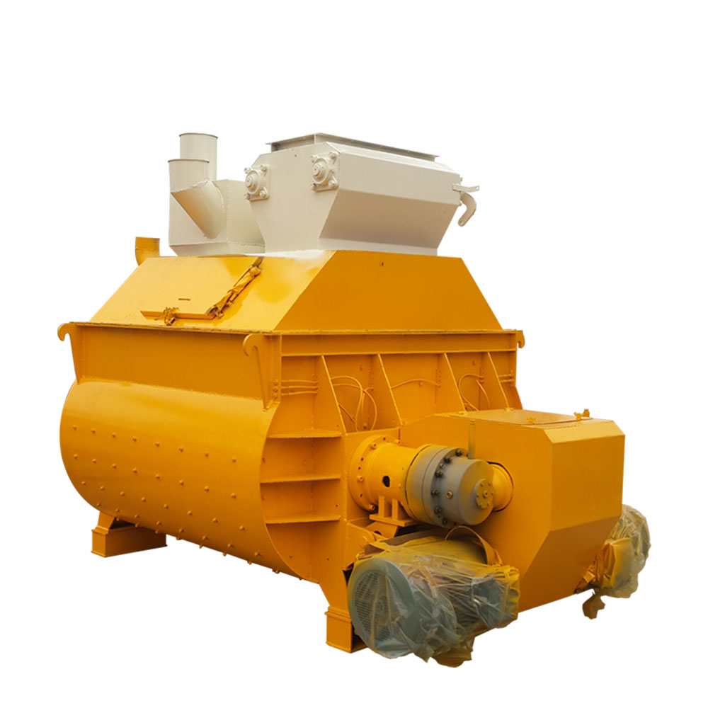 Cement double shaft mechanical concrete mixer malaysia