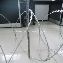 BTO-22 Hot-Dip Galvanized Razor Wire For Farm Protection