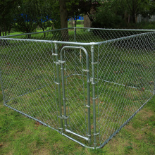 Pet Safe Boxed Chain Link Dog Kennel