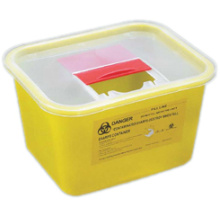 Cheapest Price for Small Sharps Container Sharps Container 2.0L supply to Heard and Mc Donald Islands Manufacturers