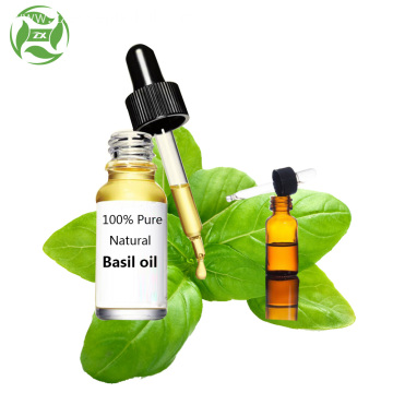 Absolutely pure and natural basil essential oil wholesale