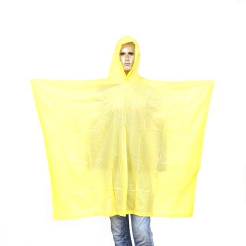 pvc rain poncho with customized logo