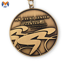 Good Quality for Custom Running Medals Personalized custom made event medallions export to Russian Federation Suppliers