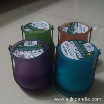 Garden Natural Colorful Citronella Candles