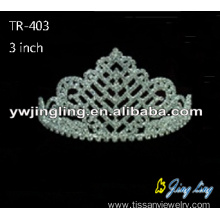 Rhinestone pageant crowns wedding hair accessories