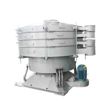 Large capacity tumbler vibrating screen for powder