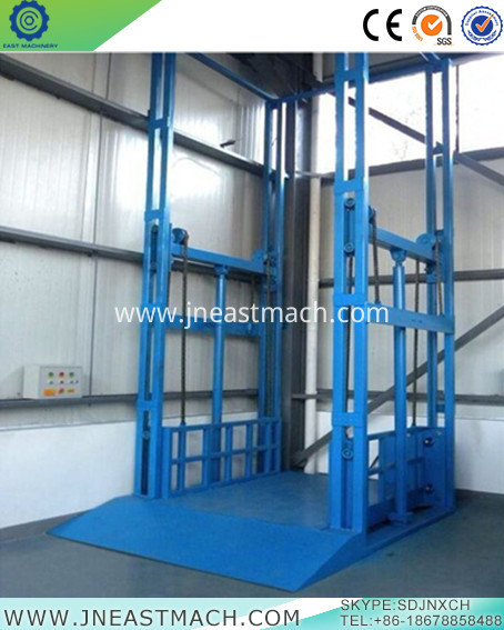 Guide Rail Cargo Lift