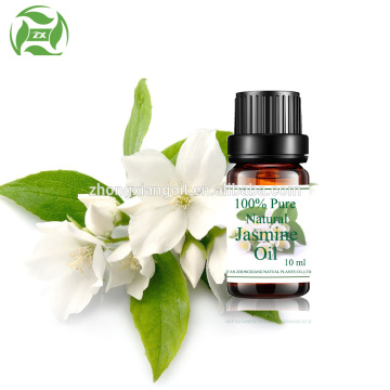 100% Natural fresh jasmine flowers essential oil