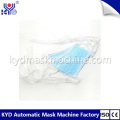 High speed medical tie type mask welding machine
