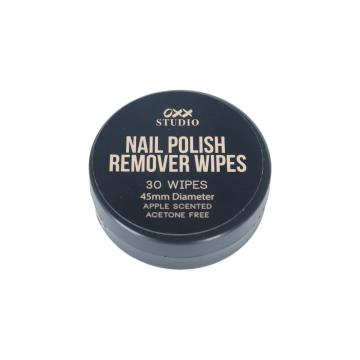OEM Nail Polish Remover Wet Wipes Without Alcohol