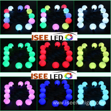 Waterproof hanging 50mm dmx led ball string