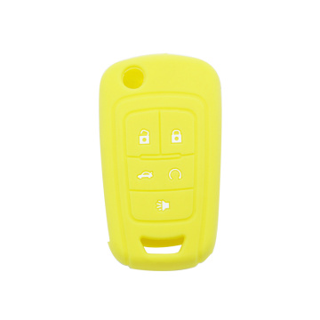 Silikon Car Key Cover med Chevrolet Logo