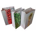 with logo clothes promotion wax coated paper bag