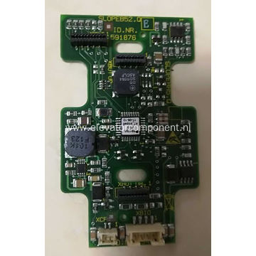 Schindler Elevator LOP Button Board 591876