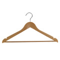 High Quality Natural Colour wood Coat Hanger