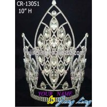 "10"" Large Chunky Rhinestone Crowns"