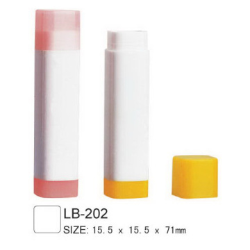 Square Empty Lip Balm Tube