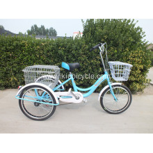 Folding Aluminum Alloy Adult Tricycle