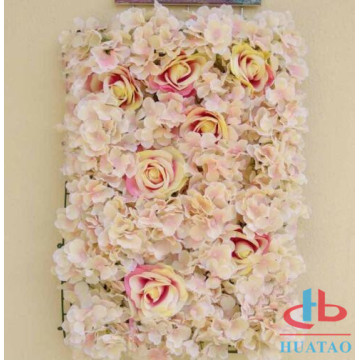 Artifical flower wall decorative for wedding