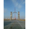OEM Steel Bridge Structure Building Fabrication