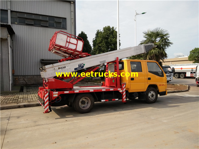 15m Truck mounted Man Lifts
