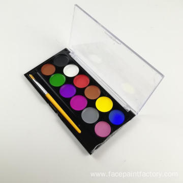 Waterbased Nontoxic Metallic Kids Face Paint for Party