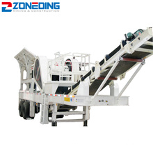 Professional Portable Mobile Cone Crusher Plant