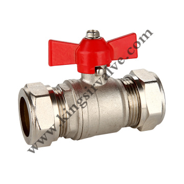 Butterfly handle  ball valve
