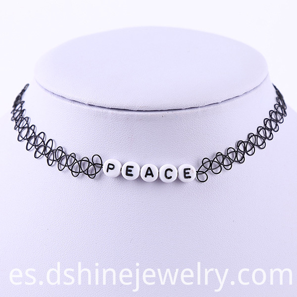 tattoo choker necklace