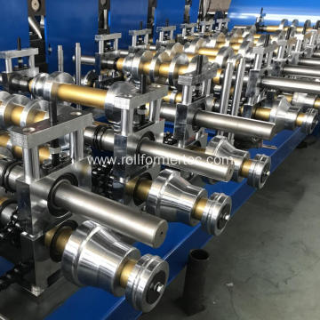 Textured surfaces cyclonic batten rollforming line