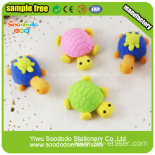 Tortoise Different Design Animal Promotion Puzzle Eraser