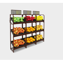 Steel Single Sided Fruit and Vegetable Shelves