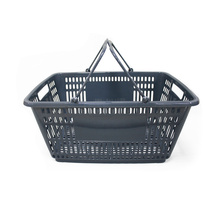 portable plastic carry shopping basket wholesale