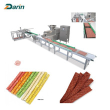 Auto Meat Strip Machine Traying System