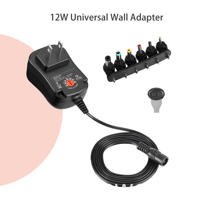 12w Multifunctional wall charger