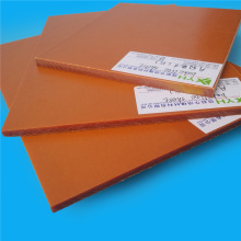 Cheap Price Orange Phenolic Bakelite Board Electrical