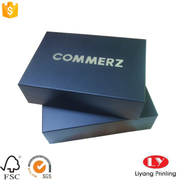 Cosmetic cardboard packaging gift box with logo