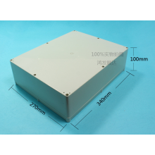 Purchasing for Junction Box Outdoor Plastic Enclosure (ECL340X270H100) export to Comoros Exporter