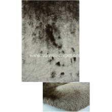 Thin Polyester Shaggy Rug