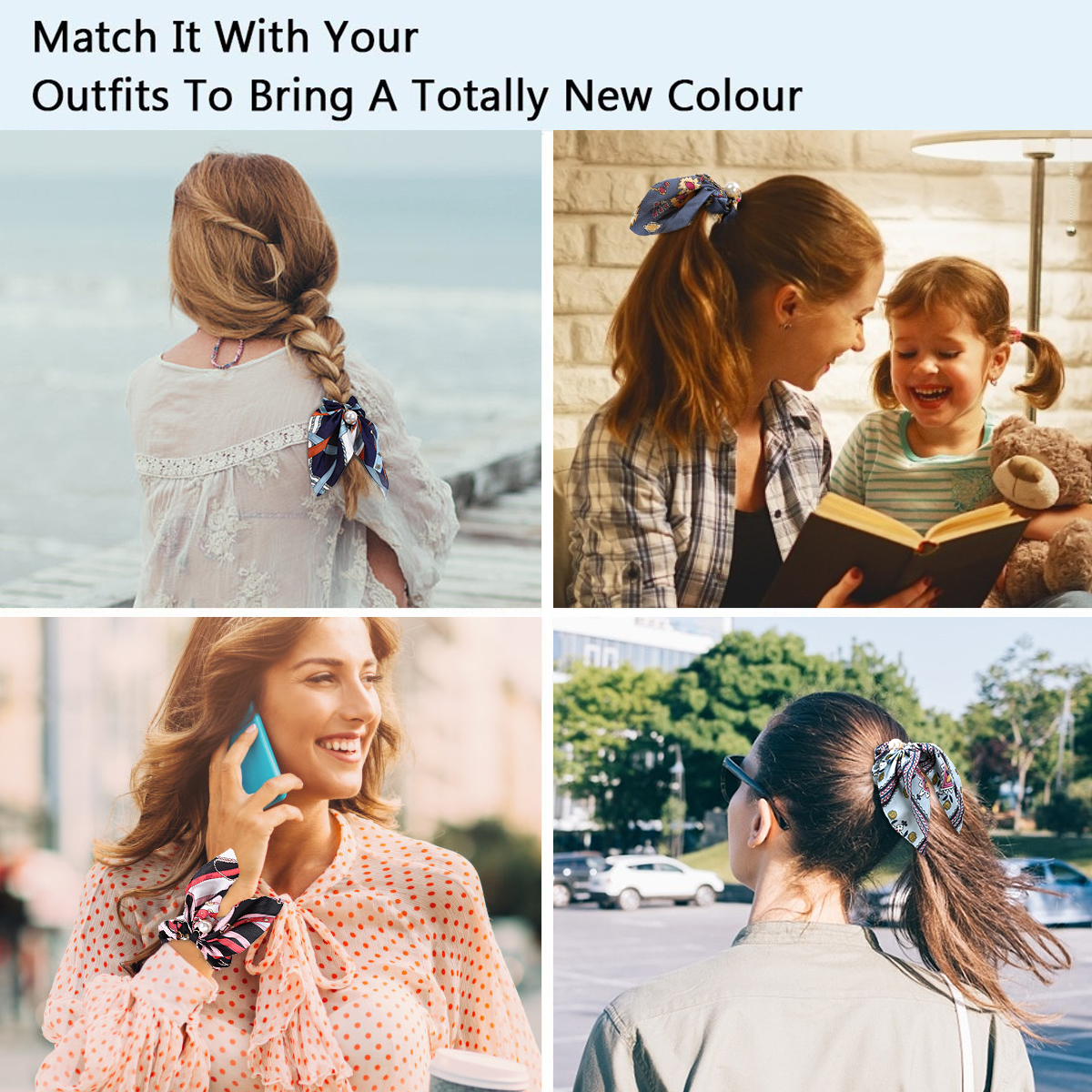 hair scrunchies women