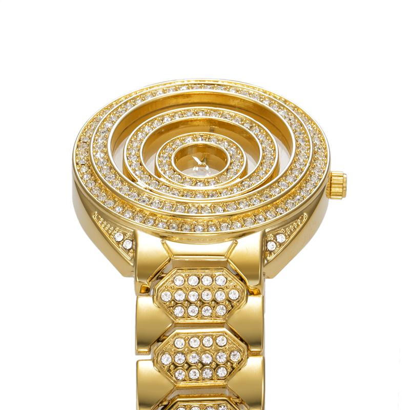 2016 Luxury Golden Women Dress Wrist Watches