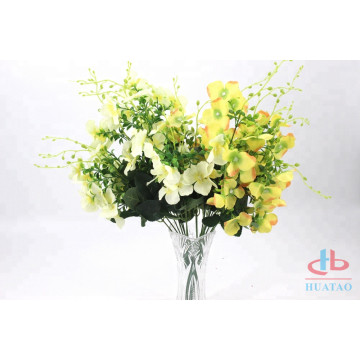 Silk flowers real hydrandreas artificial flower blue
