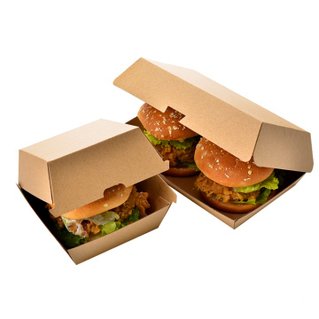 Disposable Custom Printed Kraft Paper Box For Food