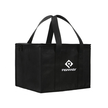 Reusable Aluminium Foil Foldable Insulated Cooler Bag