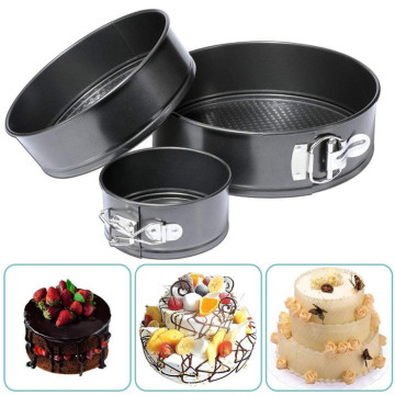4/7/9 Inches Cheesecake Pan Set Leakproof Cake Pan