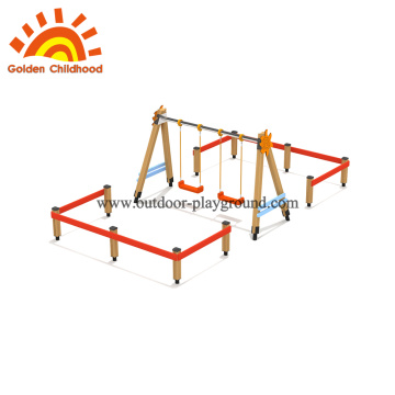 Swing set for toddlers play equipment