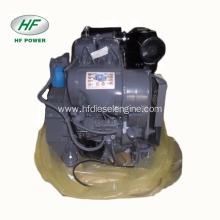 F2L912 2 cylinder small marine diesel engine with gearbox