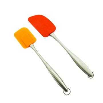 China Professional Supplier for Silicone Scraper silicone  pan scraper spatula for sale supply to Portugal Wholesale