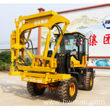 Highway Guardrail Installation Machine Pile Driver
