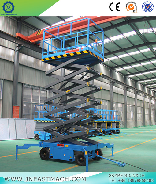 DC Powered Mobile Scissor Lift